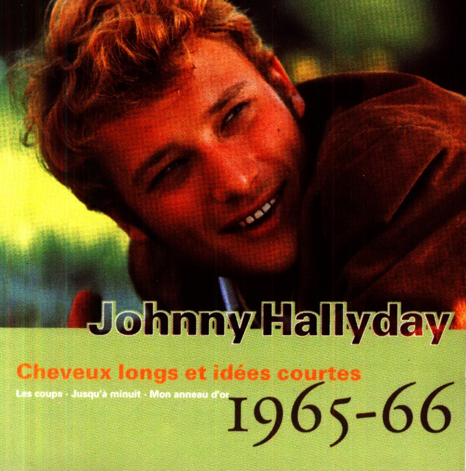 cheveux longs johnny hallyday