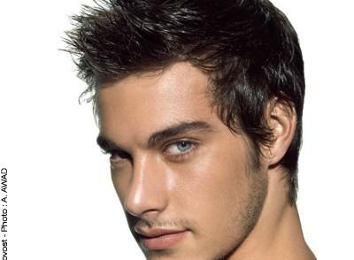 coiffure fashion homme cheveux fins