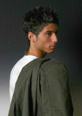 coiffure homme cheveux courts 2012