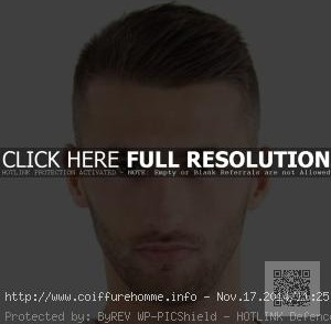 coiffure homme cheveux fins branches