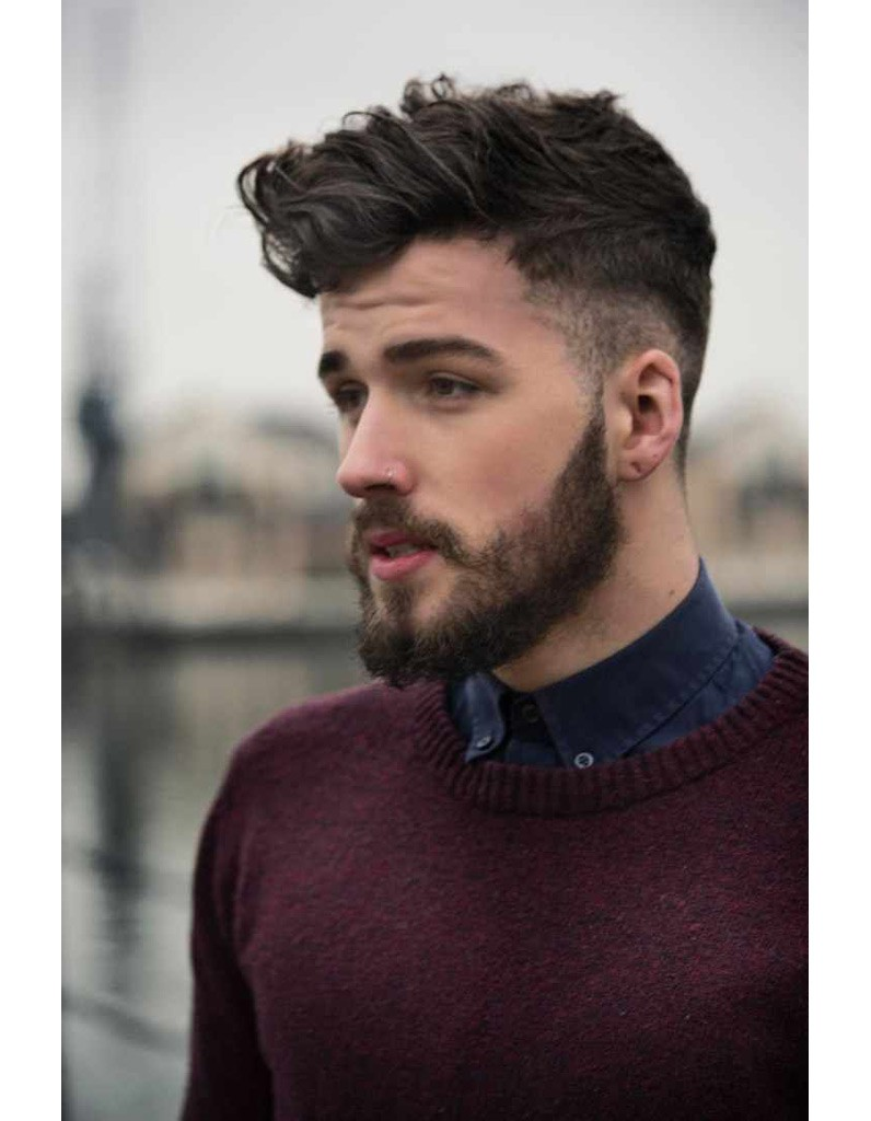 coiffure homme cheveux magazine