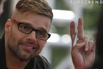 coiffure homme ricky martin