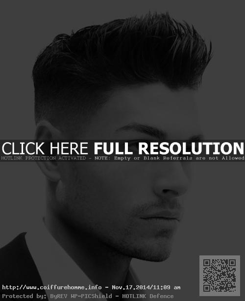 coupe de cheveux homme fin visage rond